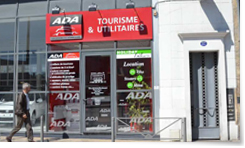 Location de voiture et utilitaire bordeaux face gare ada for Agence location bordeaux