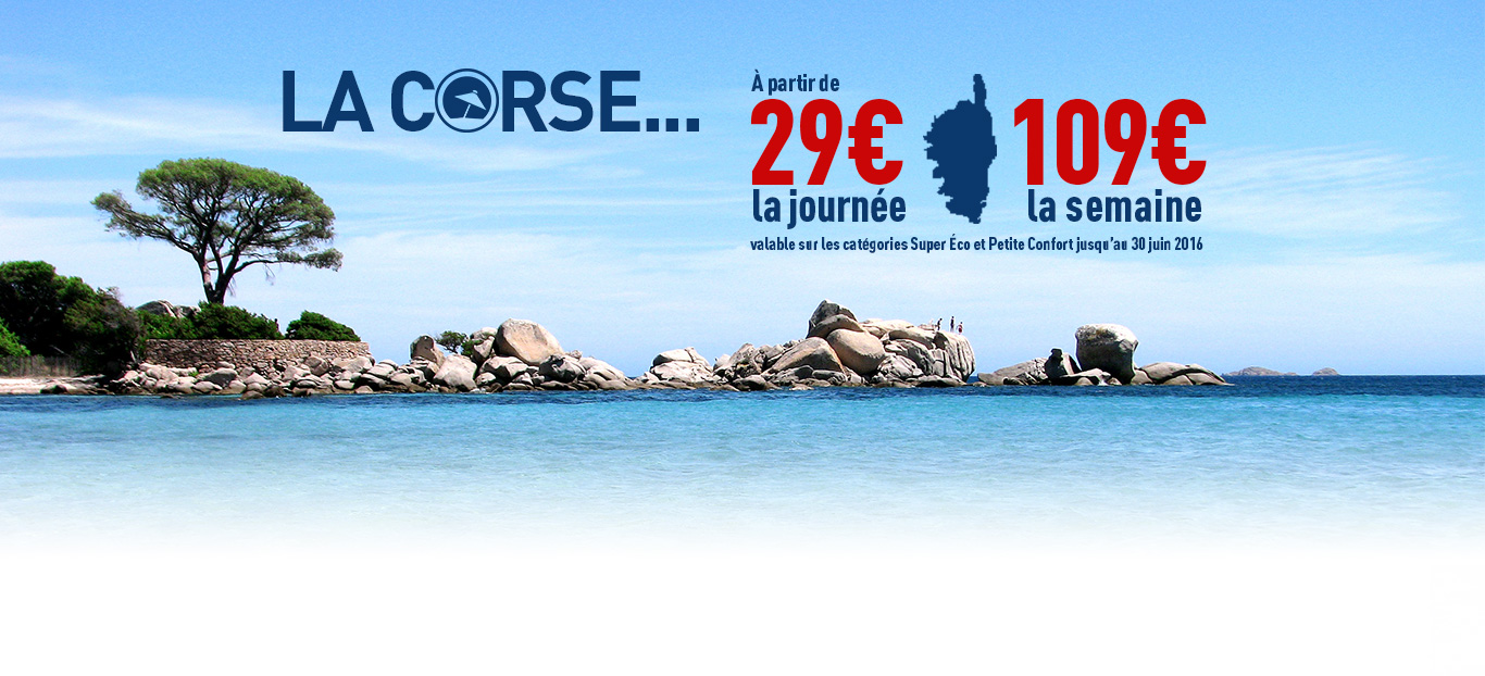 banni�re Corse promotion